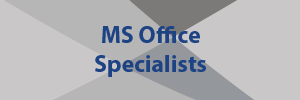 MS Office Specialists